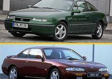 30 anni e 4 ruote, Confronto coupé: Opel Calibra Vs Nissan 200SX (Silvia)