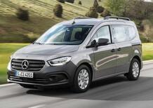 Mercedes Citan: ecco la nuova versione del van multispazio