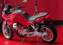 Moto Guzzi V100 Sport Tourer: motore a V raffreddato ad acqua, 120 cavalli! SCOOP