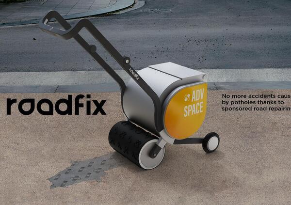Roadfix, il tappa buche brandizzabile