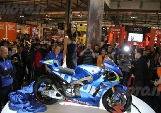 Suzuki, nuovi modelli e i programmi MotoGP all'Eicma 2013