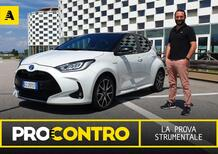 Toyota Yaris Hybrid, PRO e CONTRO | La pagella e tutti i numeri della prova strumentale