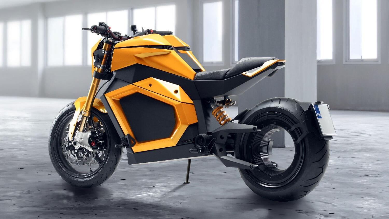 Verge TS. E' in vendita la moto elettrica senza mozzo