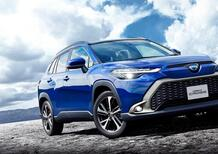 Una nuova veste per la Toyota Corolla Cross del 2022