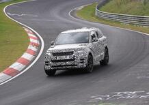 Range Rover Sport SVR, le foto spia