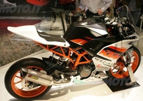 EICMA 2013: KTM RC125, RC200 e RC390. Le nuove super sportive