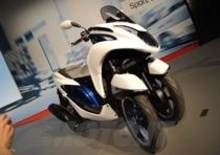 EICMA 2013: Yamaha Tricity concept