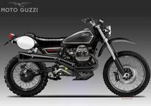 Moto Guzzi V9 Telluride. Il concept di Bezzi