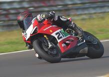 Ducati Panigale V2 Bayliss TEST. Replica d'autore