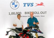 Le BMW G 310 raggiungono il traguardo di 100.000 unità prodotte
