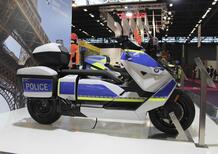 BMW CE 04 e F900XR: le versioni per la Polizia