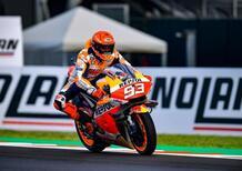 MotoGP 2021. GP di Misano2. Bagnaia cade, Marc Marquez vince, Quartataro è mondiale