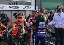 """MotoGP 2021. GP di Misano2. Marc Marquez: """"Felice, ma è il giorno di Quartararo"""""""