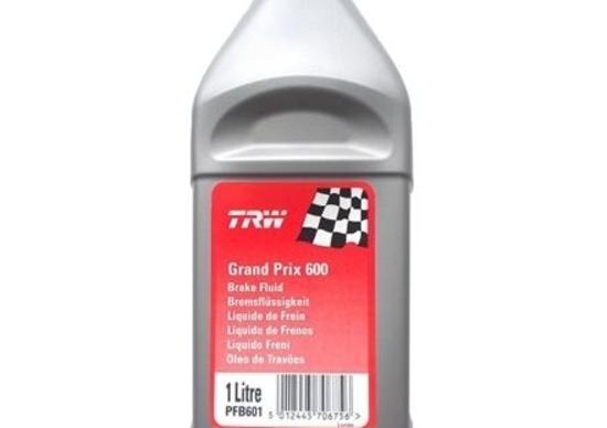 Olio freni TRW competizione GP 600 e DOT 5.1 ESP