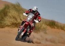 "Dakar 2014, 2a Tappa. Vincono Sam Sunderland (Honda)  e Stephane Peterhansel (Mini All4). Barreda e ""Monsieur Dakar"" i leader"