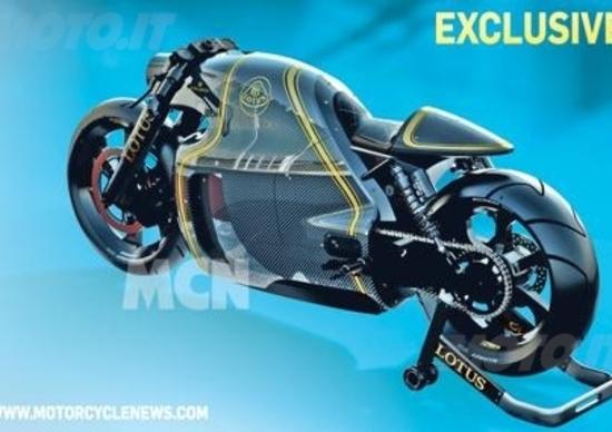 Lotus C-01, eccola: direttamente dal futuro