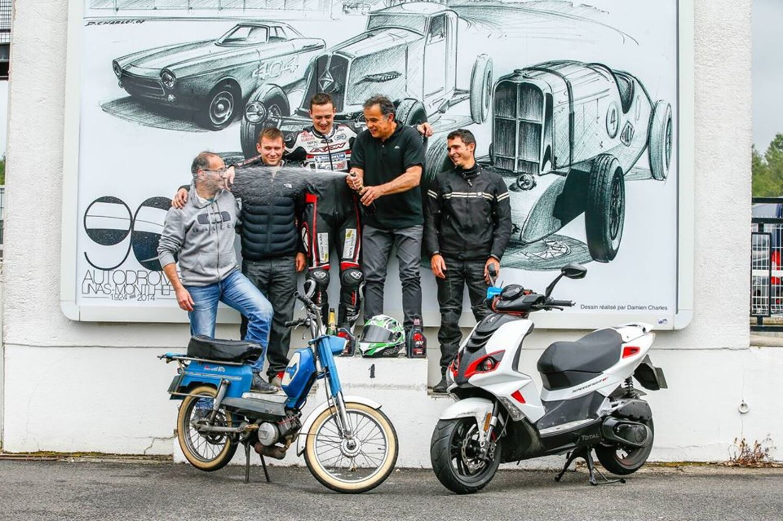 Peugeot Speedfight4 50 da record del mondo: 1395 km in 24 ore!