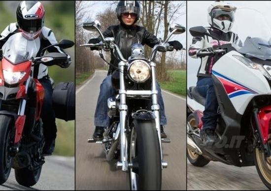 Donne in moto: guida all'acquisto!