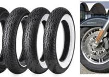 Pneumatici Harley-Davidson, in collaborazione con Dunlop e Michelin