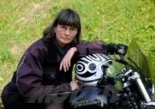 Motor Bike Expo: Barbara Timme e il suo Caberg Riviera