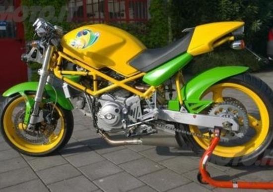 """Monster 600 """"For Brasil 2014"""""""