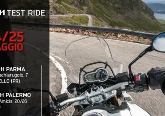 Demo ride Triumph, questo fine settimana a Parma e Palermo