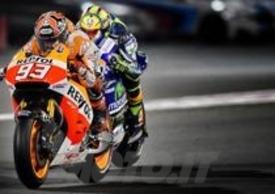 Rossi e Marquez in Qatar