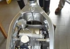 Il telaio bitrave ricavato dalla lavorazione dal pieno