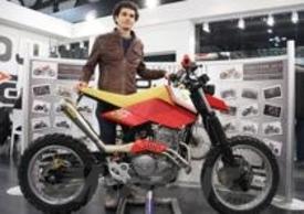 La Honda Bouzin col suo designer