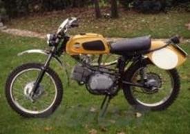 La 125 a cilindro orizzontale non ha avuto un particolare successo. Era però valida, specialmente nella versione da regolarità. Questo è un esemplare del 1967