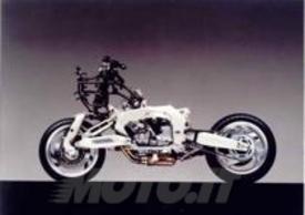 La ciclistica della Yamaha GTS1000