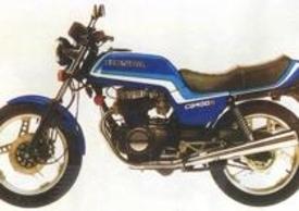 La Honda CB400N originale