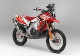 La nuova Honda progettata dalla HRC per vincere nei rally