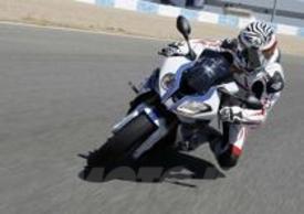 La BMW HP4 sul Circuito di Jerez de la Frontera