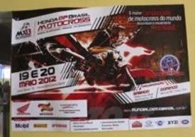 Locandina del GP del Brasile Motocross 2012