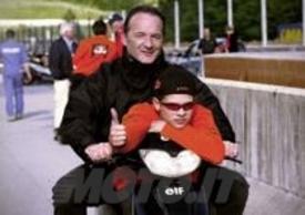 Stefan con il padre Helmut Bradl