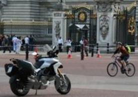 La Ducati per le vie di Londra
