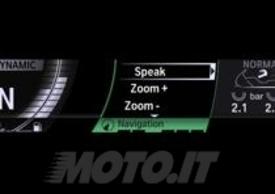 Il display della nuova BMW