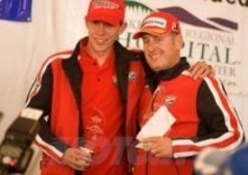 Greg Tracy e Alexander Smith portano la moto italiana sul podio
