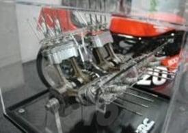 Albero motore e pistoni ovali