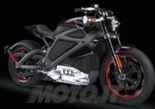 Harley-Davidson, ecco l'elettrica Livewire