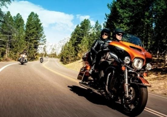 Harley-Davidson, richiamo per le Touring 2014