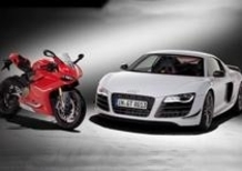 Audi e Lamborghini al World Ducati Week 2014