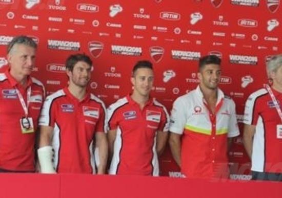 WDW 2014, Ducati MotoGP: formazione confermata