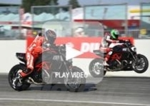 Diavel Drag Race by Tudor: Laconi strappa la vittoria a Baiocco (video)