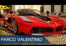 Ferrari FXX K: il video dal Parco Valentino