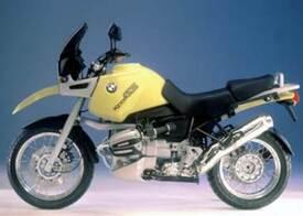 La BMW R1100 GS originale