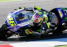 Rossi in testa dopo il warm up del GP di Misano