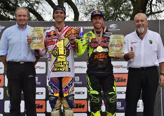 Tixier campione MX2, Cairoli terzo nella MXGP