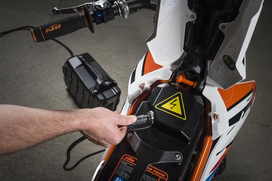 La batteria dà 50 km di autonomia